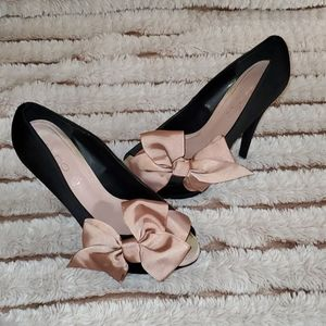 Black heels 👠🖤🎀